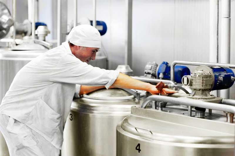 agitadores industriales para alimentación